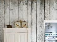 Wood effect wallpaper SVALBARD - Wall&decò