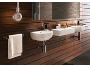 Wall-mounted ceramic handrinse basin PASS | Wall-mounted handrinse basin - CERAMICA FLAMINIA