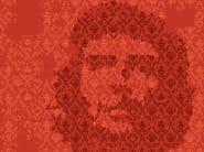 Motif geometric wallpaper MIND GAMES - Wall&decò