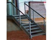 Metal fire escape staircase SMALL - SO.C.E.T.