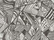 Geometric outdoor wallpaper AFROMIX - Wall&decò