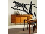 Wallpaper strip MOONCATS - Wall&decò