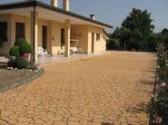Cement outdoor floor tiles DECOTOP SPRAY - Stone International