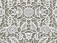 Outdoor wallpaper with floral pattern MACRAME' - Wall&decò
