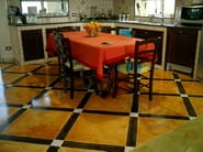 Floor tiles with marble effect ACID STAIN - Stone International