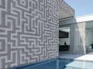Geometric outdoor wallpaper LABYRINTH - Wall&decò