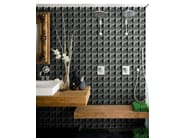 Motif bathroom wallpaper POLY-HEDRIC - Wall&decò