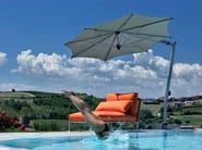 Offset Garden umbrella ISCHIA SILVER - FIM