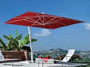 Offset aluminium Garden umbrella CAPRI WHITE - FIM