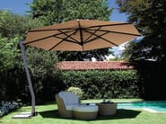 Offset adjustable Garden umbrella CAPRI GRAPHITE - FIM