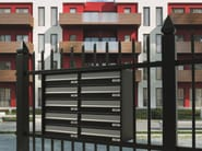 Outdoor mailbox EURO 37P-26P | Mailbox - RAVASI