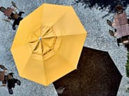Round aluminium Garden umbrella MAXI - FIM