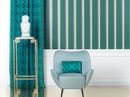 Fabric with graphic pattern for curtains LOVE - Dedar