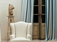 Striped washable linen fabric for curtains ZEPHYR - Dedar