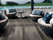 Indoor/outdoor porcelain stoneware wall/floor tiles with wood effect LISTONE D Steppa - Italgraniti