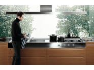 Oak fitted kitchen MINIMAL - Varenna by Poliform