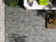 Indoor/outdoor porcelain stoneware wall/floor tiles with stone effect MINERAL D Galena - Italgraniti