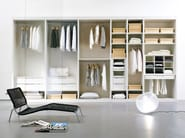 Atlante walk-in closet white mat lacquered