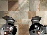 Full-body porcelain stoneware wall/floor tiles with stone effect STONE D Quarzite Multicolor - Italgraniti