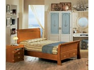 Full size wooden bed GOUVERNAIL | Bed - Caroti