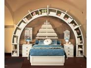 Full size wooden bed for kids' bedroom GALEONE | Bed for kids' bedroom - Caroti