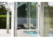Stainless steel pull handle for sliding windows FOLD | Pull handle for sliding windows - Formani Holland B.V.