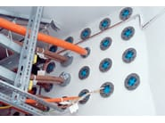 Pipe fixing system and collar ROXTEC SERIES R - Roxtec Italia