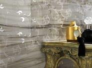 White-paste wall tiles with marble effect MARMI IMPERIALI WALL Elegance Striato - Impronta Ceramiche by Italgraniti Group