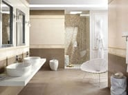 White-paste wall tiles with stone effect NATURAL STONE WALL Lipica Visone - Impronta Ceramiche by Italgraniti Group
