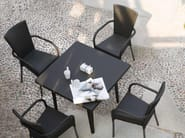 Square garden table IRENE | Square table - Atmosphera