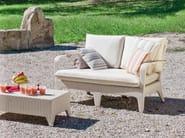 Upholstered 2 seater garden sofa VANITY | Sofa - Atmosphera