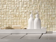 White-paste wall tiles with marble effect ONICE D WALL Beige - Impronta Ceramiche by Italgraniti Group