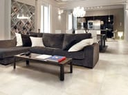 Glazed stoneware flooring with marble effect ONICE D Bianco - Impronta Ceramiche by Italgraniti Group
