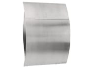 One-sided outdoor stainless steel mailbox CAPELLA - Formani Holland B.V.