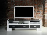Low adjustable TV cabinet 122 | Low TV cabinet - Wissmann raumobjekte