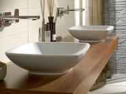 Countertop ceramic washbasin LOOP & FRIENDS | Countertop washbasin - Villeroy & Boch