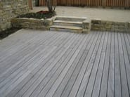 Knotless douglas decking boards KOLLIN - pur natur