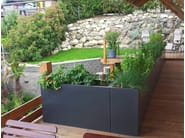 Fiber cement planter Custom planters - IMAGE'IN by ATELIER SO GREEN