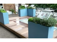 Fiber cement planter Customs planters - IMAGE'IN by ATELIER SO GREEN