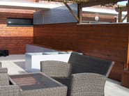 Outdoor fiber cement wall tiles Cladding panels - IMAGE'IN by ATELIER SO GREEN