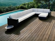 Sectional garden sofa MOOD | Sectional sofa - Bivaq