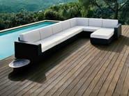 Modular garden sofa MOOD | Modular sofa - Bivaq