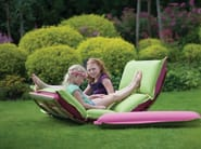 Rocking fabric garden armchair OPS! OUTDOOR - Sedes Regia