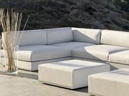 Corner modular garden sofa MOOD LOW | Corner sofa - Bivaq