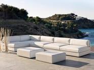 Sectional garden sofa MOOD LOW   Sectional sofa - Bivaq