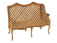2 seater teak garden sofa GLYCINE | Garden sofa - ASTELLO