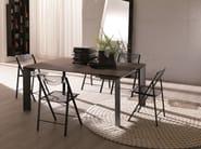 Extending rectangular wooden console table METRO' XL - Ozzio Italia