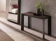 Extending rectangular wooden console table METRO' XL - Ozzio Italia