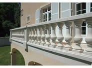 Reconstructed stone Railing WESER | Railing - Weser