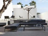 Corner modular garden sofa SIT | Corner sofa - Bivaq